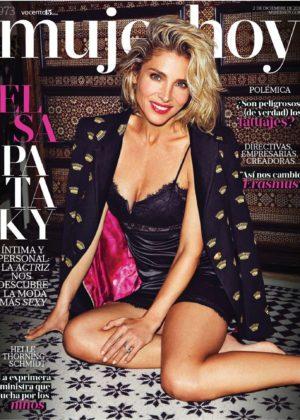 Elsa Pataky - Mujer Hoy Magazine (December 2017)