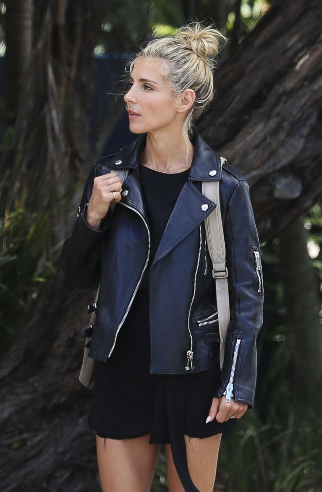 Elsa Pataky on a Photoshoot in Byron Bay
