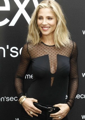Elsa Pataky - Presented as the Singer of Women's Secret Videoclip in Madrid