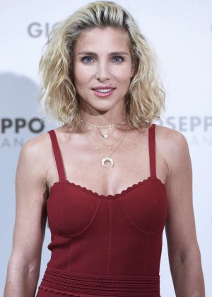 Elsa Pataky - Presents Gioseppo woman at Gioseppo store in Madrid