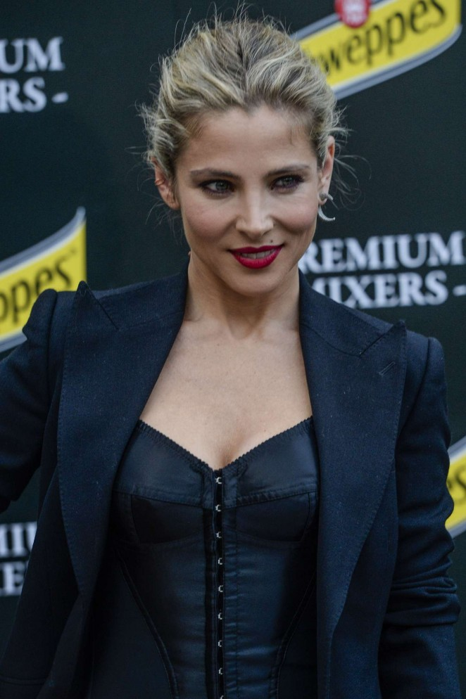 Elsa Pataky - Presents New Hibiscus By Schweppes in Madrid