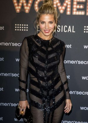 Elsa Pataky - 'Women'Secret' First Musical in Madrid