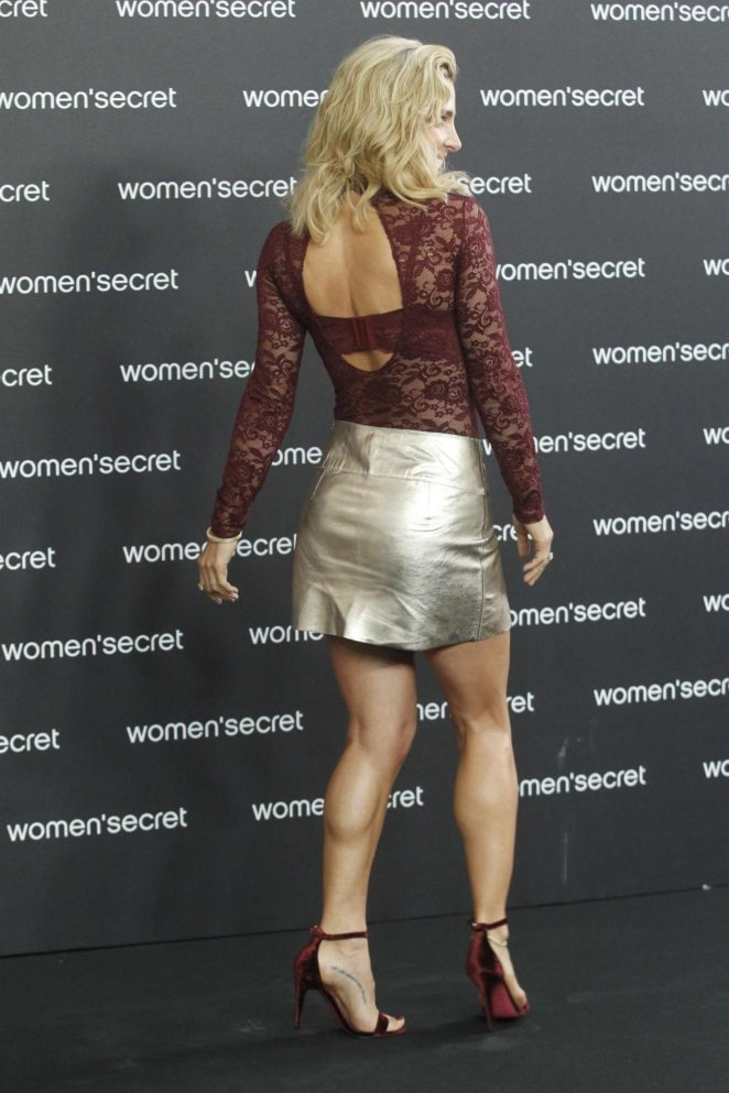 Elsa Pataky - Women Secret presentation in Madrid