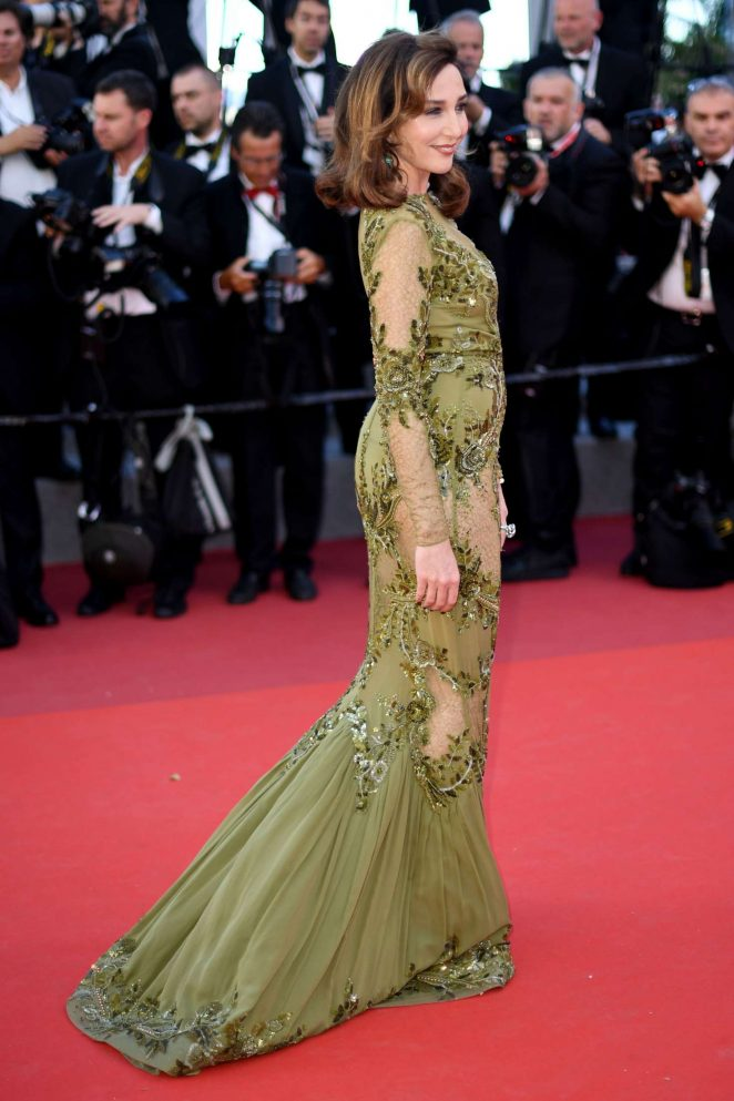 Elsa Zylberstein: Okja Premiere at 70th annual Cannes Film Festival -01
