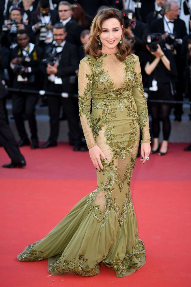 Elsa Zylberstein: Okja Premiere at 70th annual Cannes Film Festival -04
