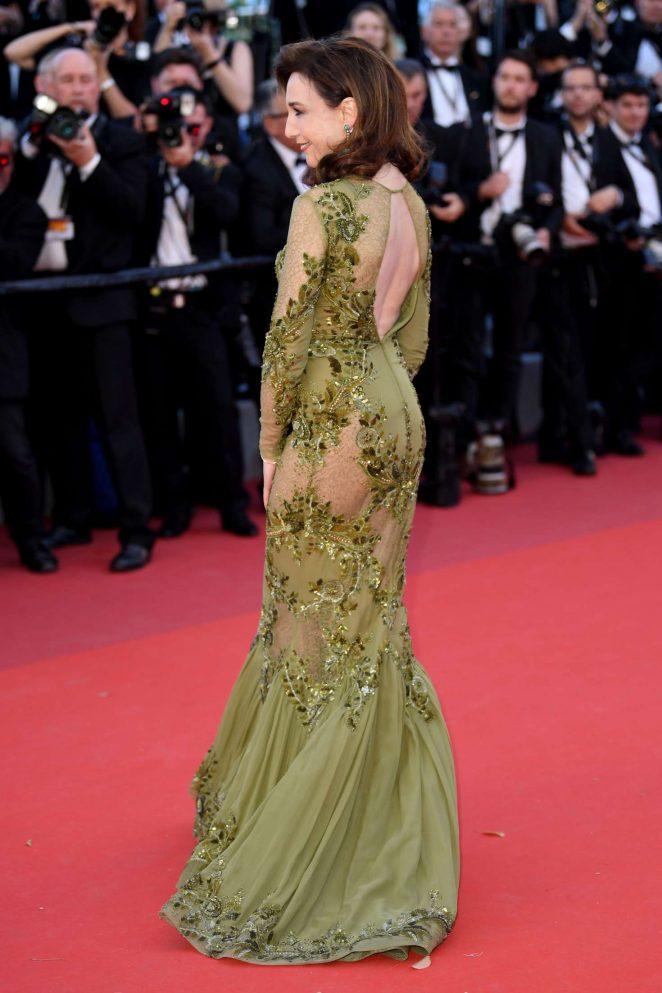 Elsa Zylberstein: Okja Premiere at 70th annual Cannes Film Festival -06