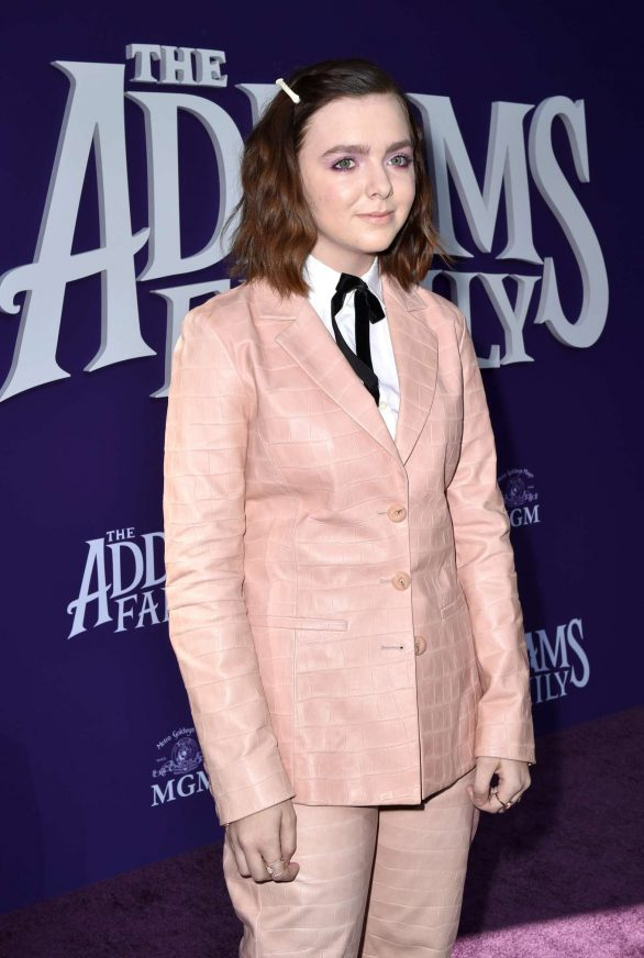 Elsie Fisher - 'The Addams Family' Premiere in Los Angeles