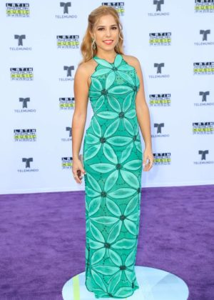 Elva Saray - Latin American Music Awards 2017 in Los Angeles