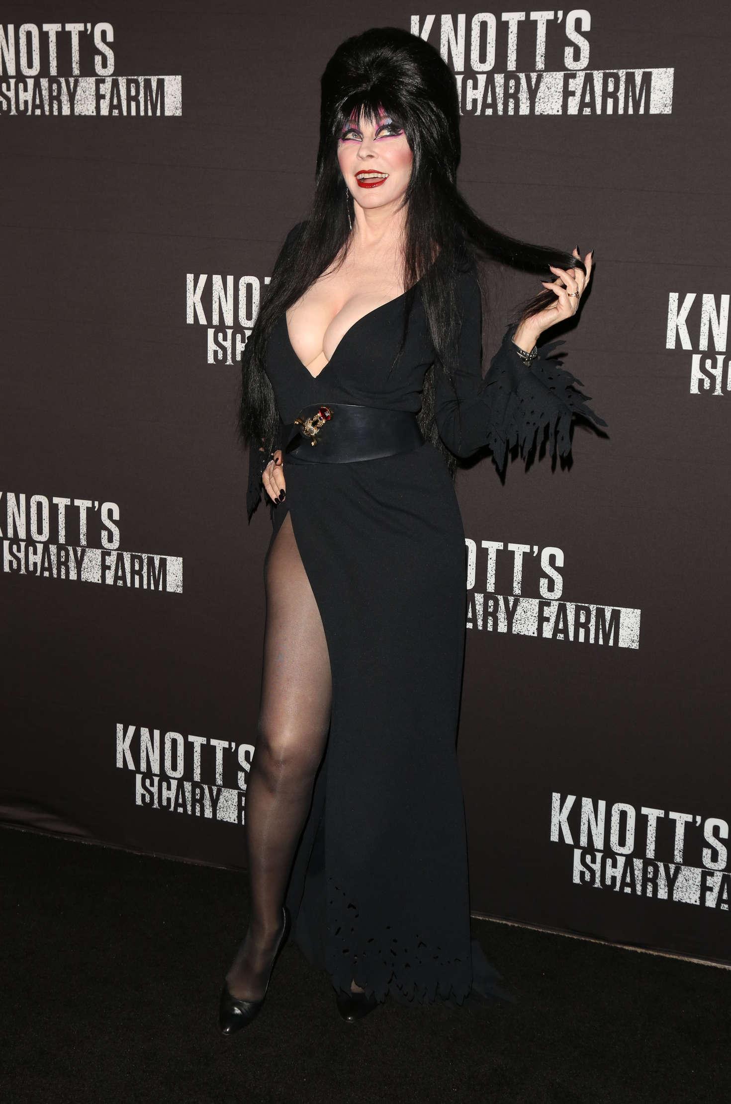 Elvira Knotts Scary Farm Opening Night 08 Gotceleb