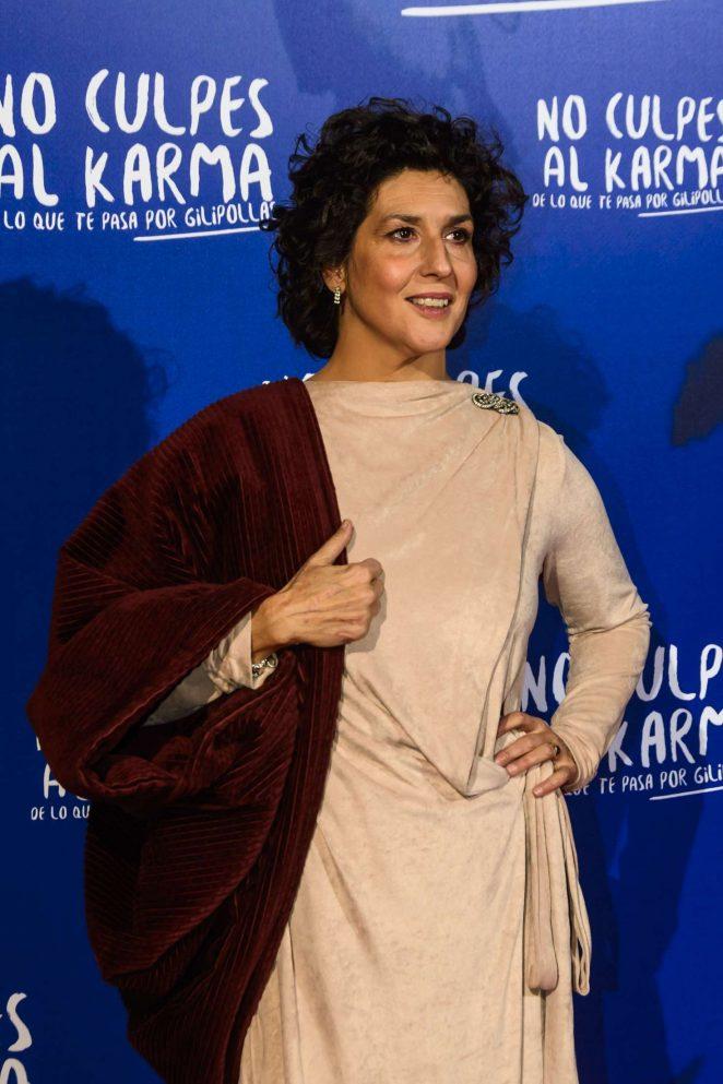 Elvira Minguez - 'No Culpes al Karma' Premiere in Madrid