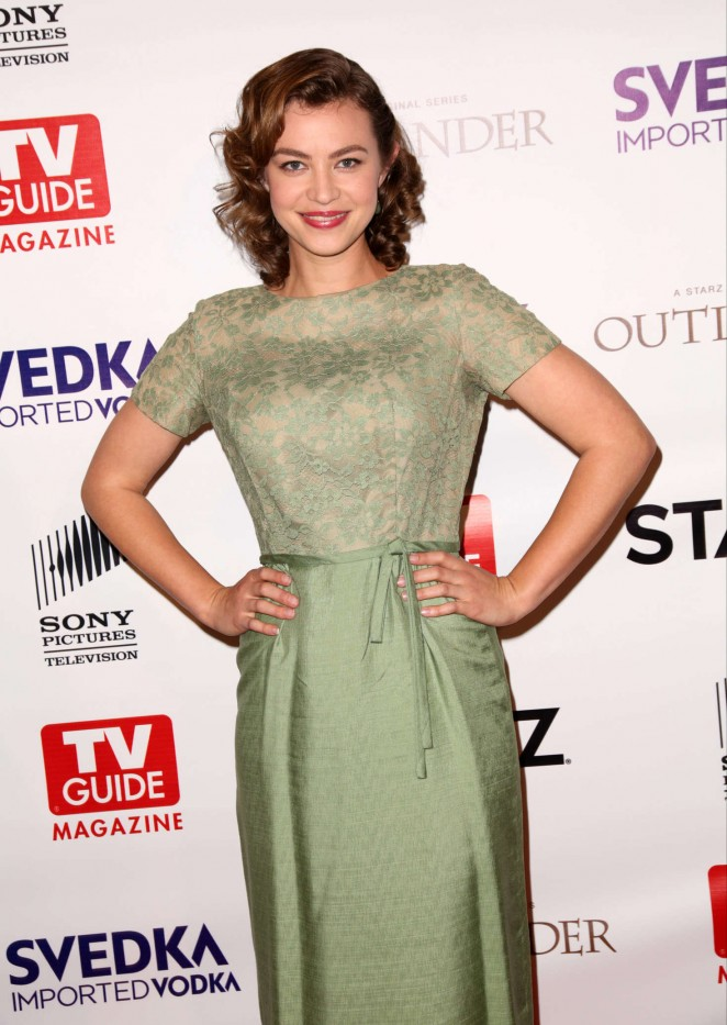 Elvy Yost - TV Guide Magazine and STARZ Celebration of OUTLANDER in West Hollywood