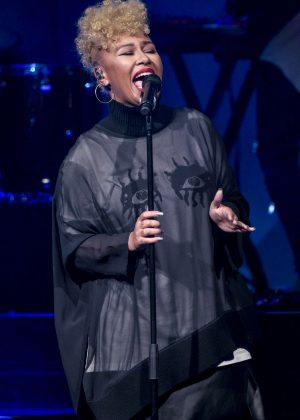 Emeli Sande Performs live at the O2 Academy in Birmingham