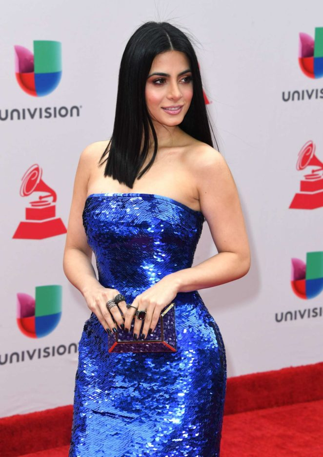 Emeraude Toubia - 2017 Latin Grammy Awards in Las Vegas