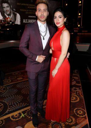 Emeraude Toubia - 2017 Person of the Year Gala honoring Alejandro Sanz in Las Vegas