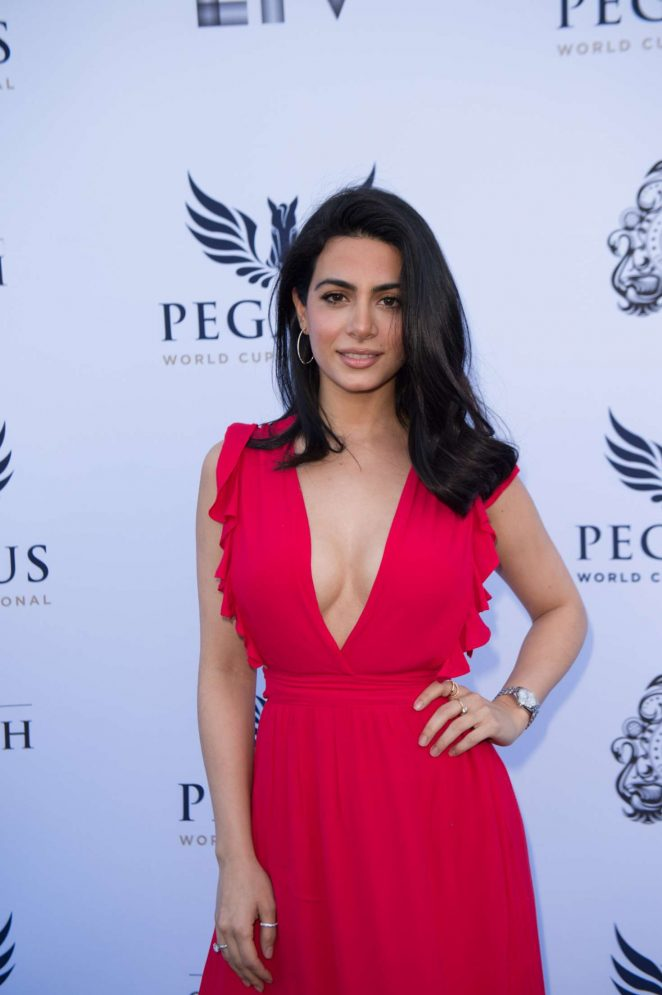 Emeraude Toubia - 2018 Pegasus World Cup Invitational in Florida