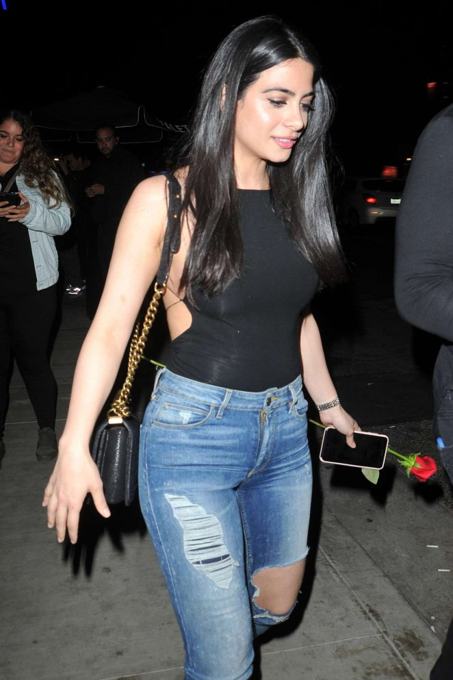 Emeraude Toubia at TAO night club in Hollywood