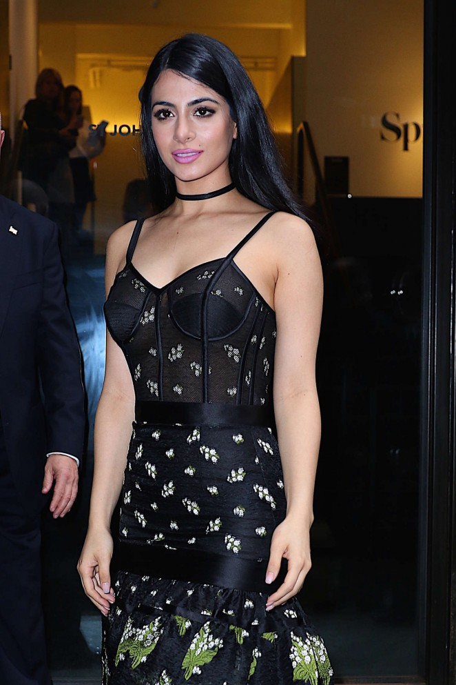 Emeraude Toubia - Attends the 2016 Freeform Upfront in NY