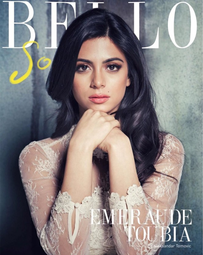 Emeraude Toubia - Bello Magazine (January 2016)