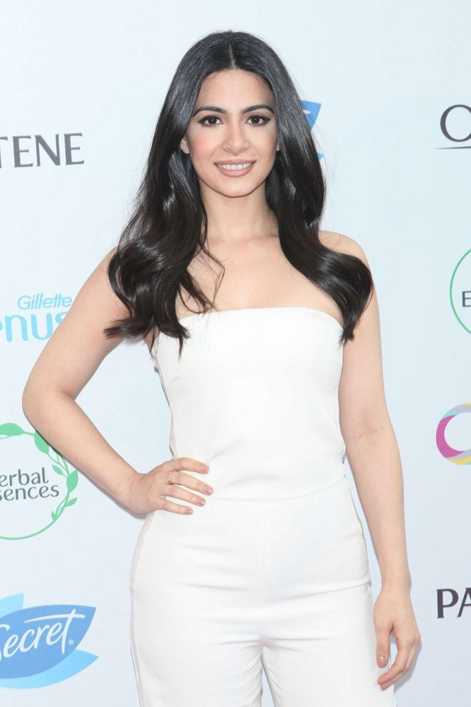 Emeraude Toubia - Hosts P&G's #WeAreOrgullosa Beauty Event in NY