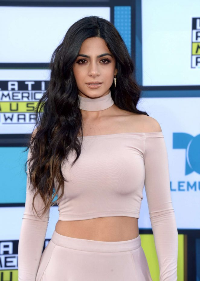 Emeraude Toubia - Latin American Music Awards 2016 in Los Angeles