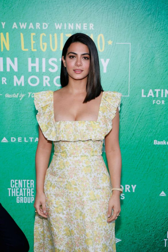 Emeraude Toubia - 'Latin History For Morons' Opening Night Performance in LA