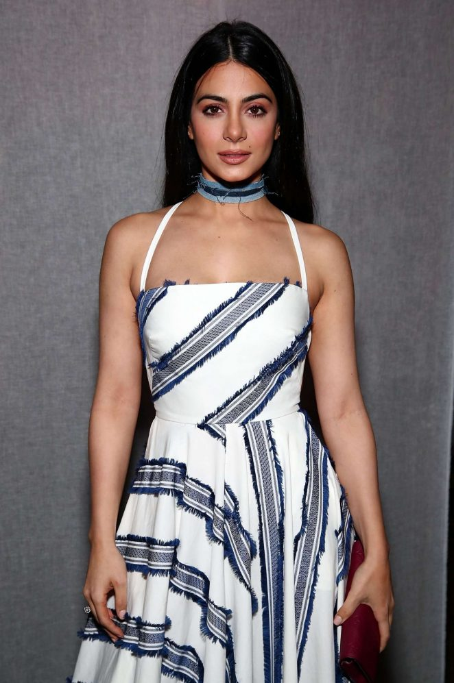 Emeraude Toubia - Milly Fashion Show at 2017 NYFW in New York
