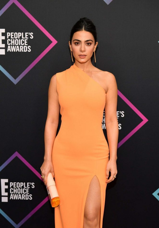 Emeraude Toubia - People's Choice Awards 2018 in Santa Monica