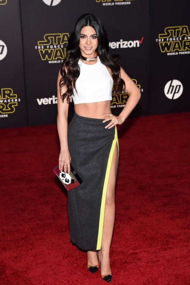 Emeraude Toubia - 'Star Wars: The Force Awakens' Premiere in Hollywood