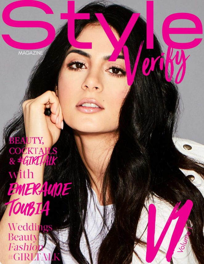 Emeraude Toubia - Style Verity Cover Magazine (January 2018)