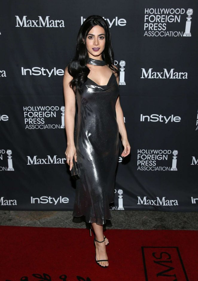 Emeraude Toubia - TIFF/InStyle/HFPA Party at 2016 TIFF in Toronto