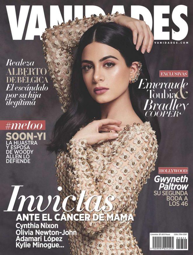 Emeraude Toubia - Vanidades Colombia Cover (November 2018)