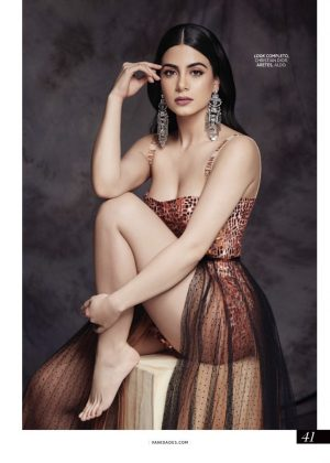 Emeraude Toubia - Vanidades Colombia Magazine (November 2018)
