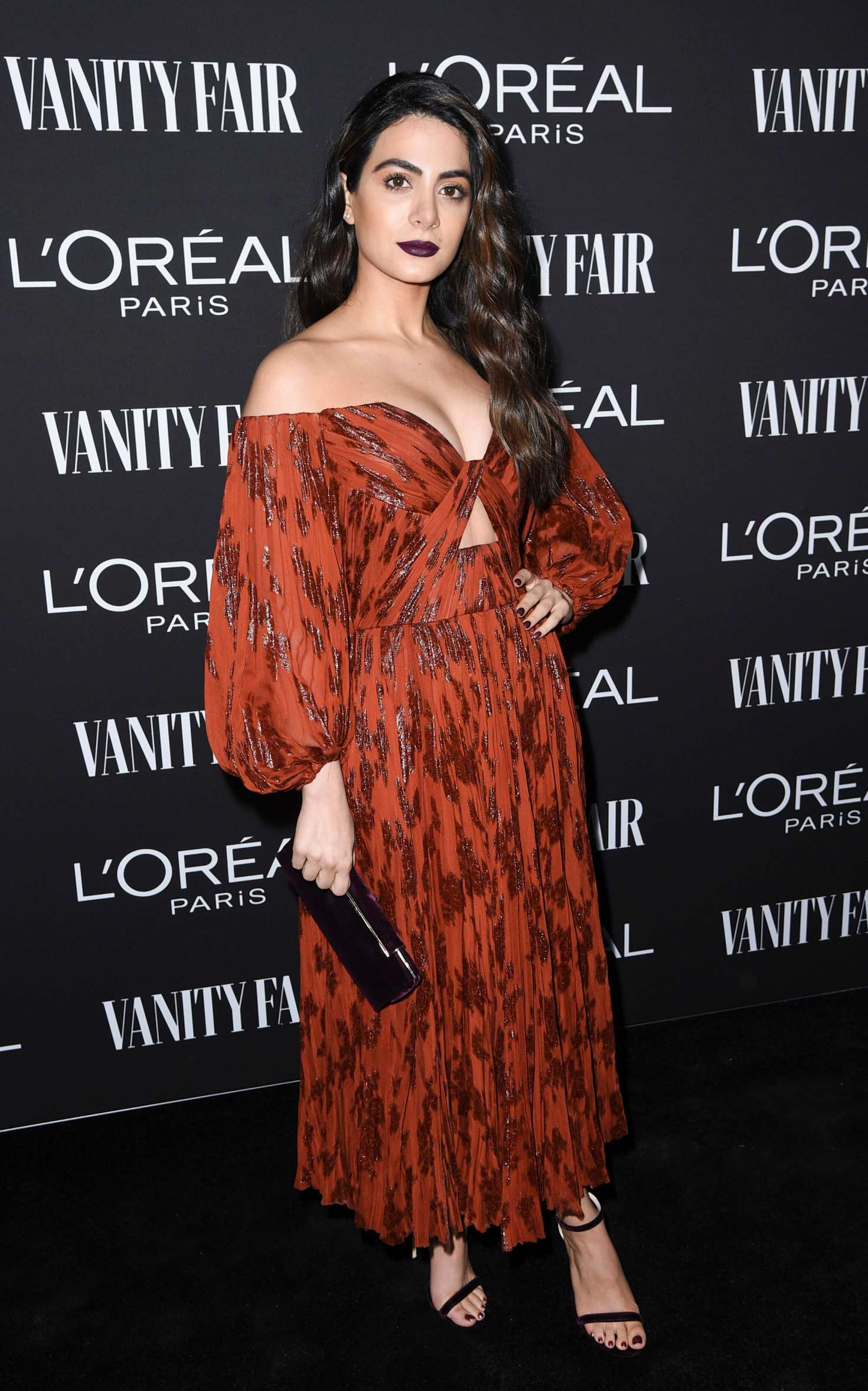 Emeraude Toubia - Vanity Fair and L'Oreal Paris Celebrate New Hollywood in LA