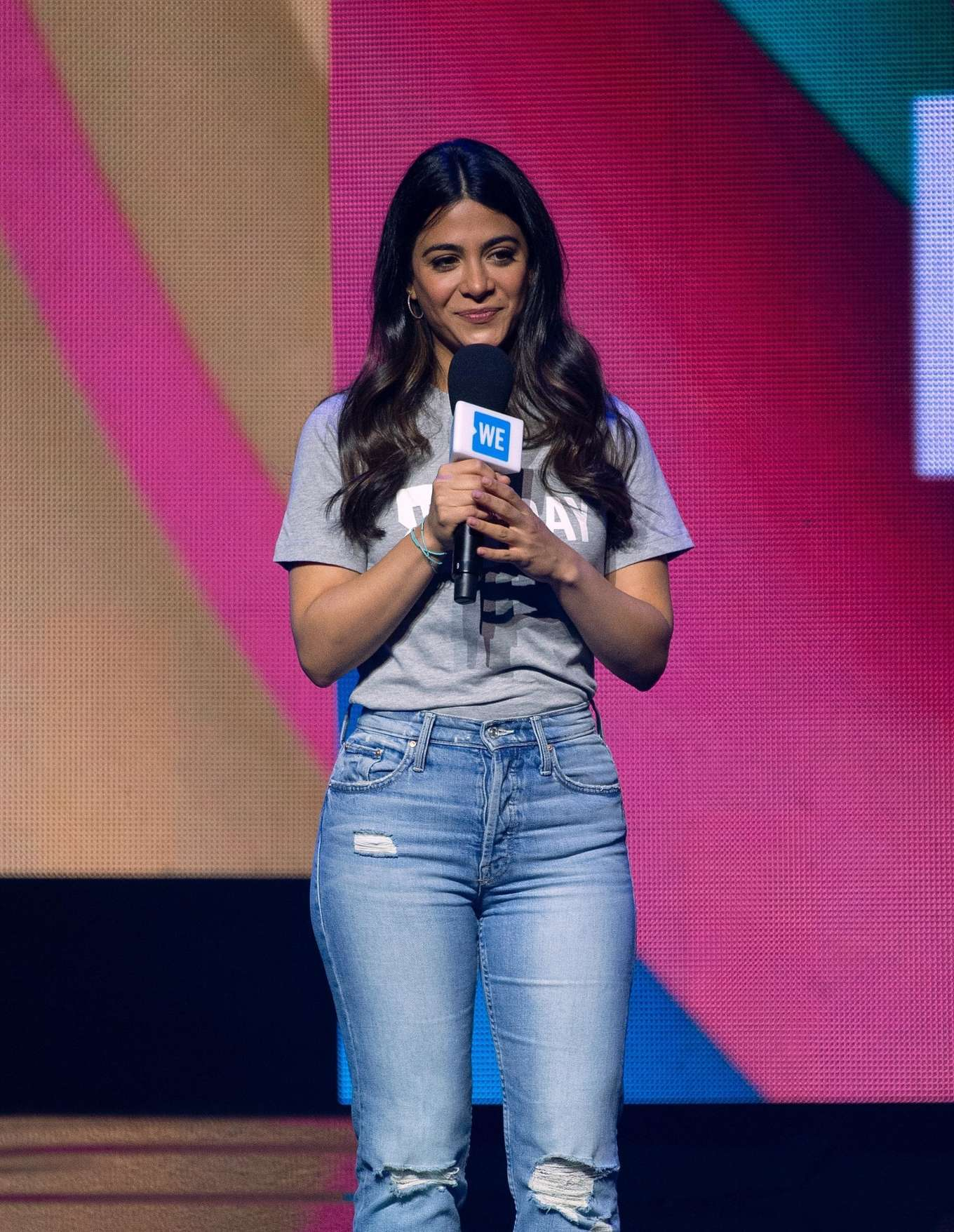 Emeraude Toubia - WE Day in Chicago