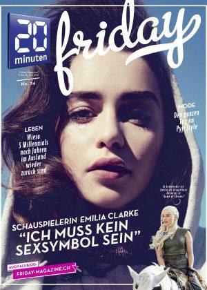 Emilia Clarke - 20 Minuten Magazine (June 2016)