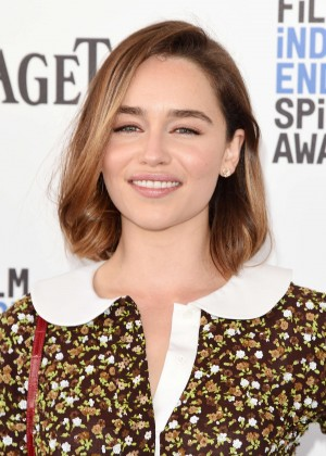 Emilia Clarke - 2016 Film Independent Spirit Awards in Santa Monica