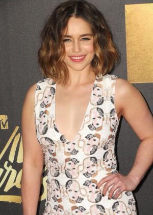 Emilia Clarke - 2016 MTV Movie Awards in Burbank
