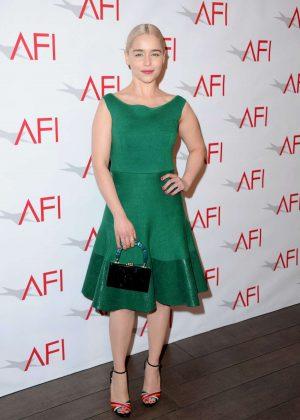 Emilia Clarke - 2018 AFI Awards in Los Angeles