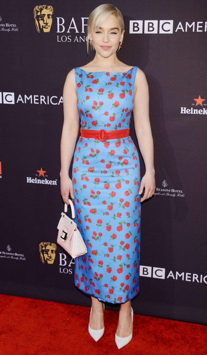 Emilia Clarke - 2018 BAFTA Los Angeles Tea Party in Los Angeles