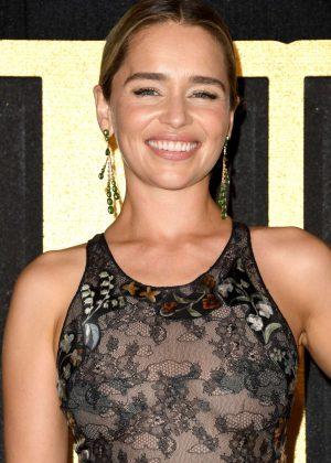 Emilia Clarke - 2018 Emmy Awards HBO Party in LA
