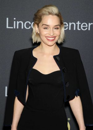 Emilia Clarke - 2018 Lincoln Center American Songbook Gala in New York