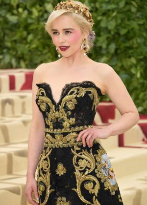 Emilia Clarke - 2018 MET Gala in NYC