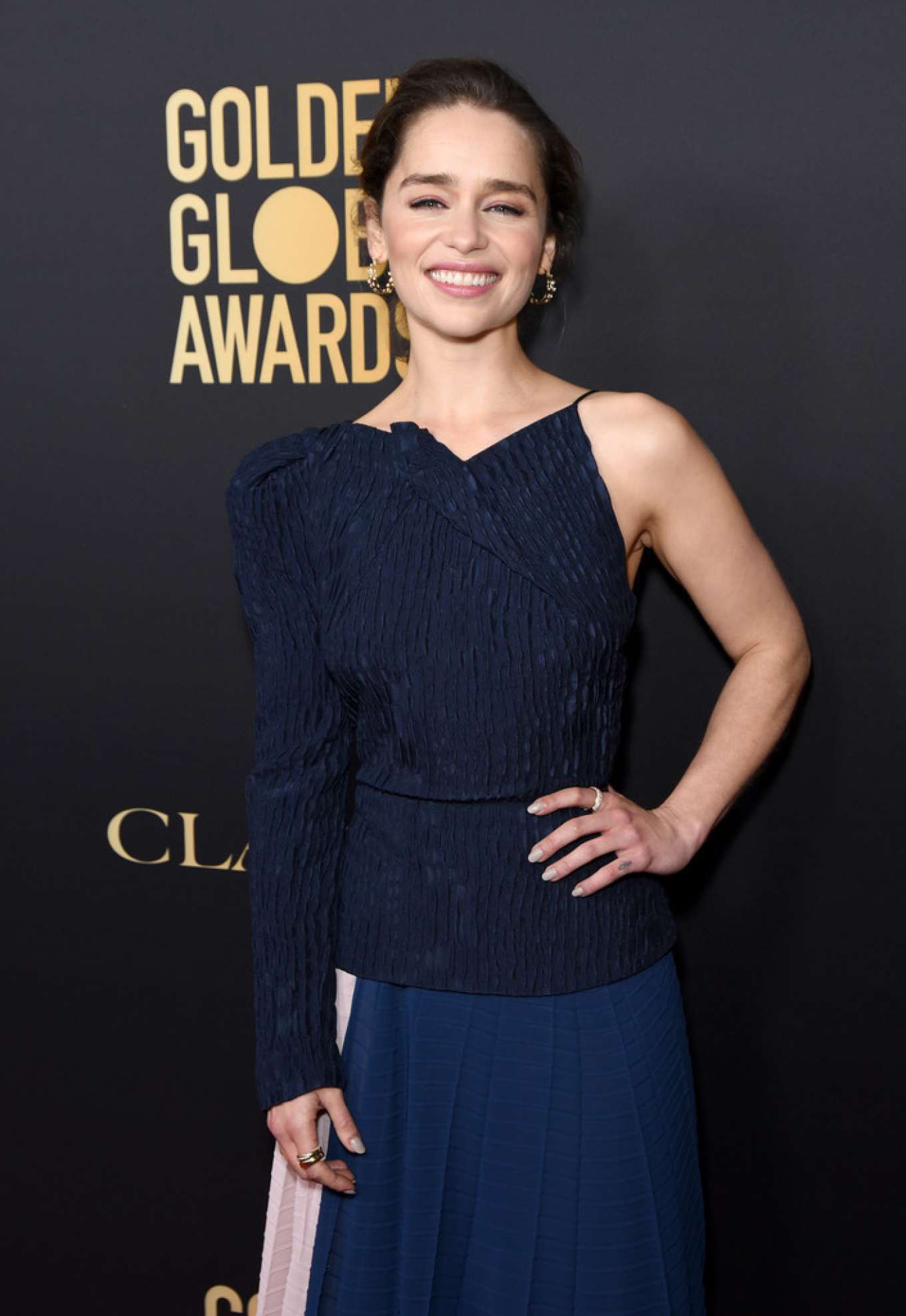 Emilia Clarke - 2019 HFPA And THR Golden Globe ambassador party in West Hollywood