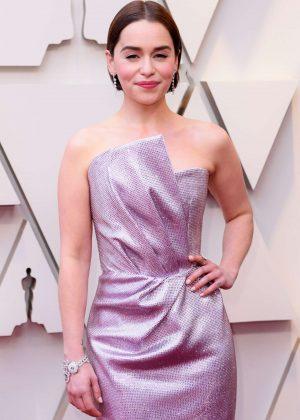 Emilia Clarke - 2019 Oscars in Los Angeles