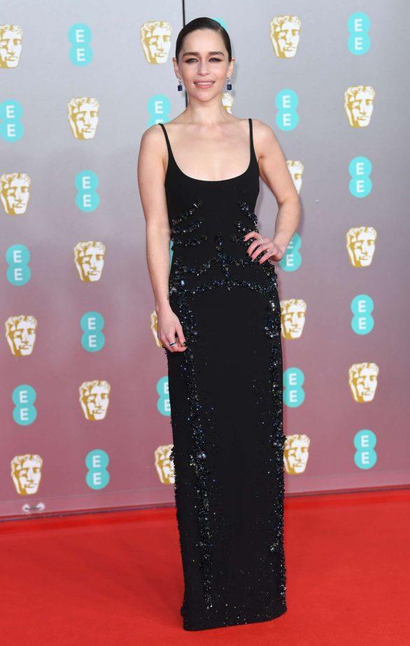 Emilia Clarke - 2020 British Academy Film Awards in London