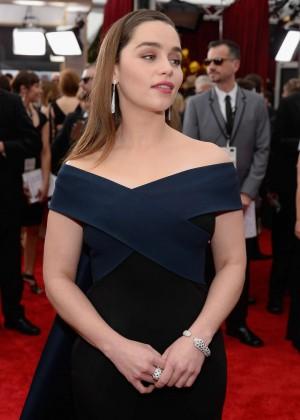 Emilia Clarke - 2015 Screen Actors Guild Awards in LA