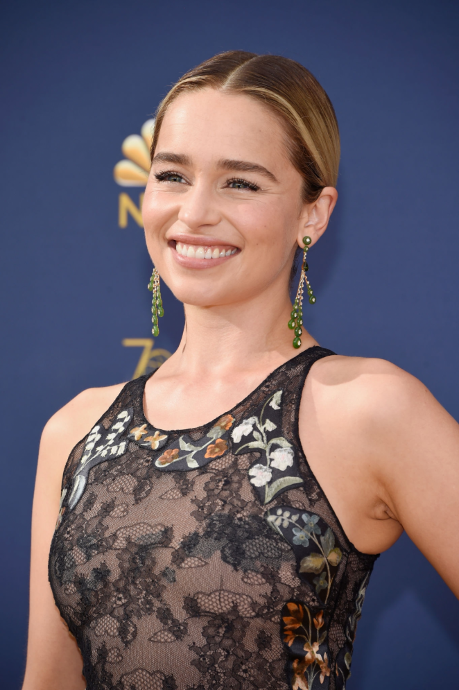 Emilia Clarke - 2018 Emmy Awards in LA