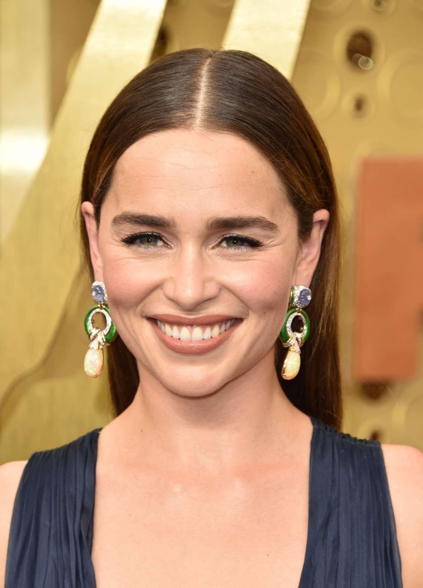 Emilia Clarke 2019 : Emilia Clarke – 2019 Emmy Awards-10