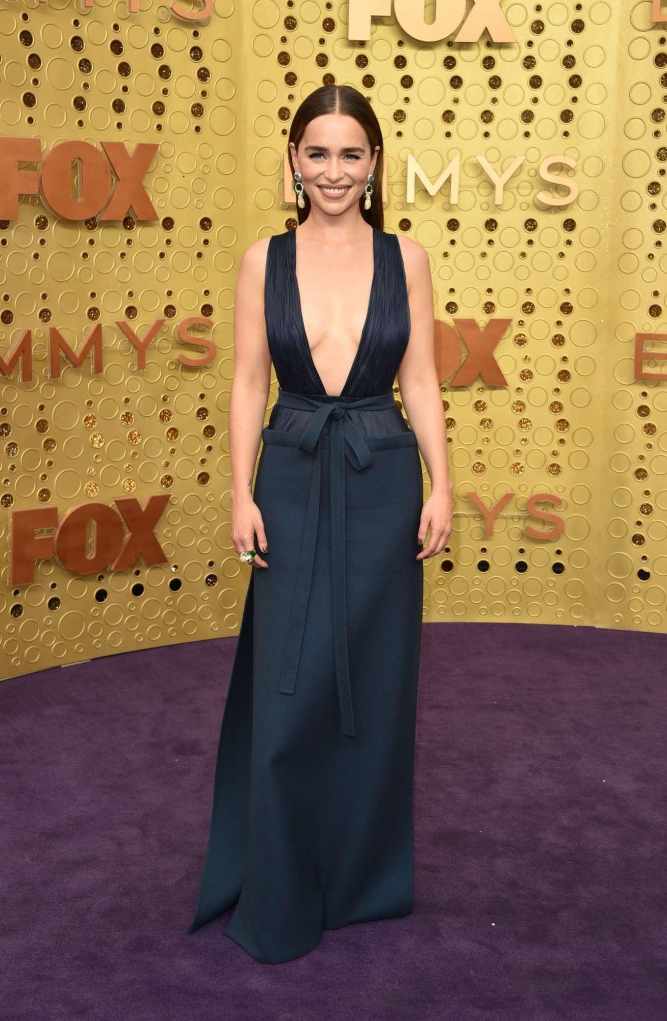 Emilia Clarke 2019 : Emilia Clarke – 2019 Emmy Awards-15