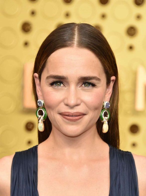 Emilia Clarke 2019 : Emilia Clarke – 2019 Emmy Awards-20